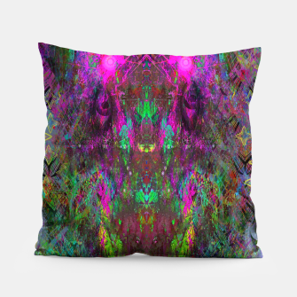 Thumbnail image of Oracular Ether (Focus) (abstract, alien, eyes) Pillow, Live Heroes