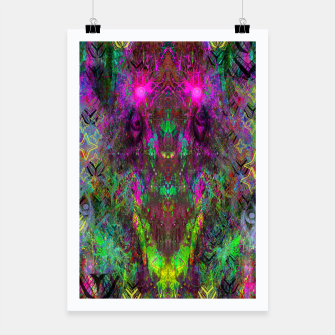 Thumbnail image of Oracular Ether (Focus) (abstract, alien, eyes) Poster, Live Heroes