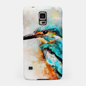 Thumbnail image of Watercolor kingfisher Samsung Case, Live Heroes