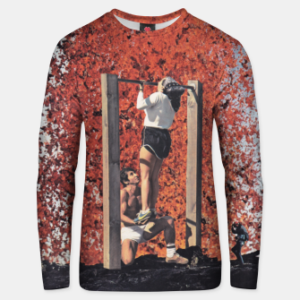 Thumbnail image of Burning Workout Cotton sweater, Live Heroes
