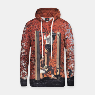 Thumbnail image of Burning Workout Cotton hoodie, Live Heroes