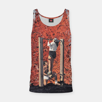Thumbnail image of Burning Workout Tank Top, Live Heroes