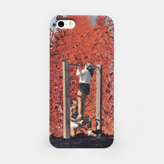 Thumbnail image of Burning Workout iPhone Case, Live Heroes