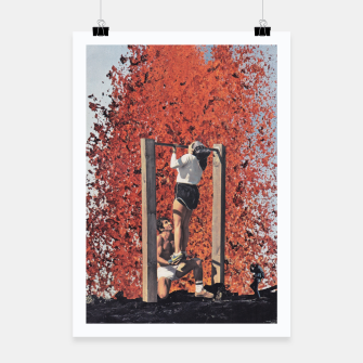 Thumbnail image of Burning Workout Poster, Live Heroes