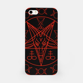 Thumbnail image of Wiccan symbols- Cross of Sulfur, Triple Goddess, Sigil of Baphomet and Lucifer iPhone Case, Live Heroes