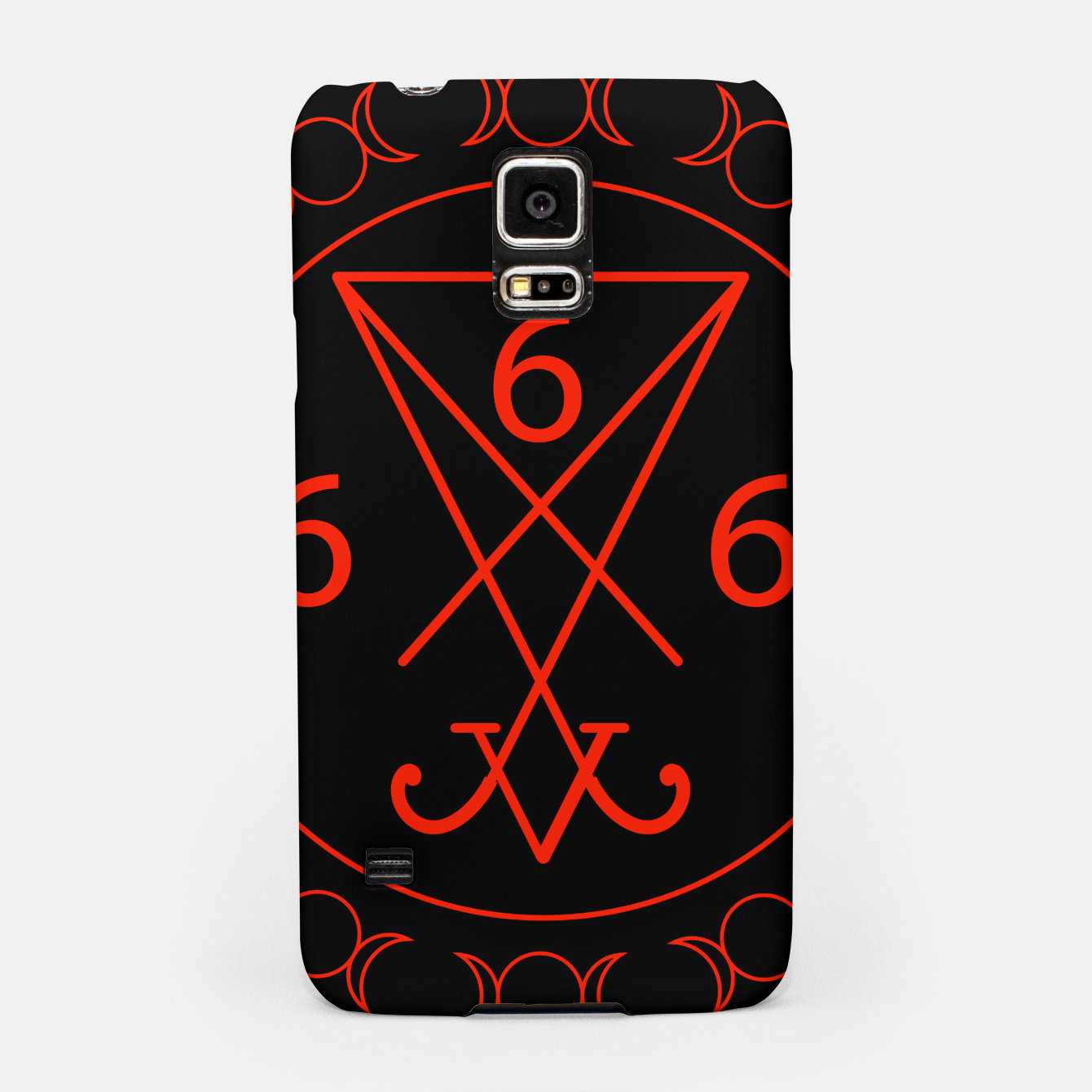 666 The Number Of The Beast With The Sigil Of Lucifer Symbol
