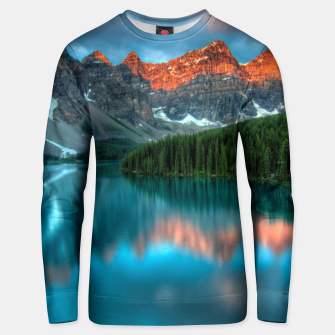 Thumbnail image of Alberta Canada Lake Louise Summer Adventure Cotton sweater, Live Heroes
