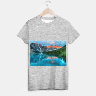 Thumbnail image of Alberta Canada Lake Louise Summer Adventure T-shirt regular, Live Heroes