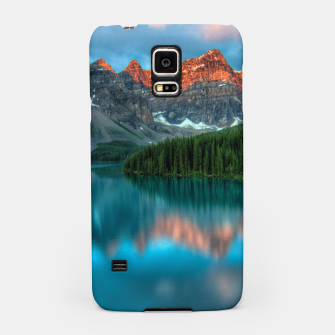 Thumbnail image of Alberta Canada Lake Louise Summer Adventure Samsung Case, Live Heroes