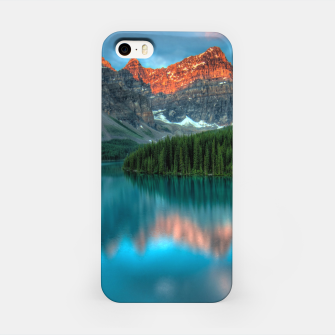 Thumbnail image of Alberta Canada Lake Louise Summer Adventure iPhone Case, Live Heroes