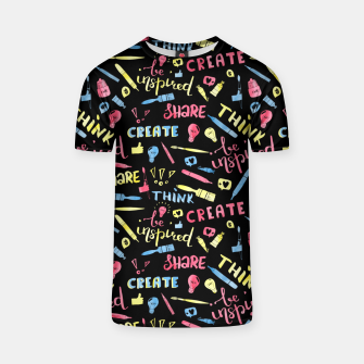Thumbnail image of Creative flow T-shirt, Live Heroes