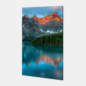 Thumbnail image of Alberta Canada Lake Louise Summer Adventure Canvas, Live Heroes