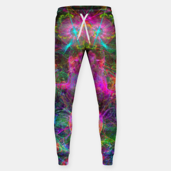 Thumbnail image of Kneel Before The Bubblegum Alien King (psychedelic) Cotton sweatpants, Live Heroes