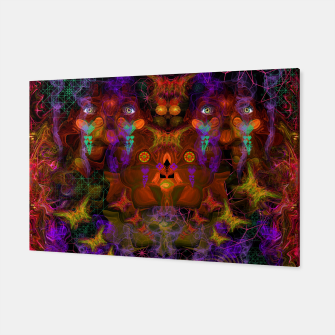 Thumbnail image of Lucid Visions of Homo Erectus (visionary, psychedelic) Canvas, Live Heroes
