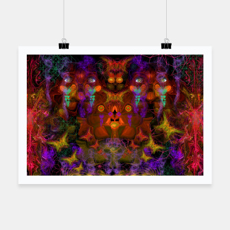 Thumbnail image of Lucid Visions of Homo Erectus (visionary, psychedelic) Poster, Live Heroes