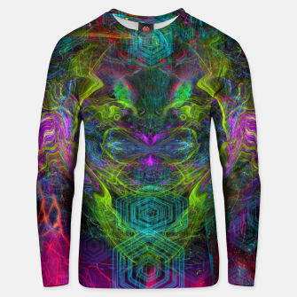 Thumbnail image of Rocket Man (abstract, psychedelic) Cotton sweater, Live Heroes
