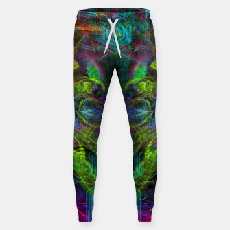 Thumbnail image of Rocket Man (abstract, psychedelic) Cotton sweatpants, Live Heroes