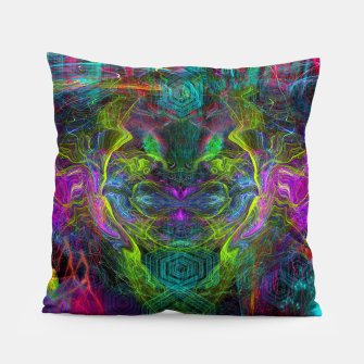 Thumbnail image of Rocket Man (abstract, psychedelic) Pillow, Live Heroes