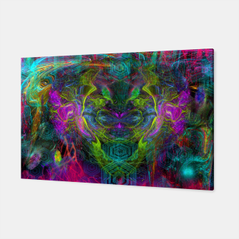 Thumbnail image of Rocket Man (abstract, psychedelic) Canvas, Live Heroes
