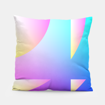 Thumbnail image of Abstract & colors 18 Coussin, Live Heroes