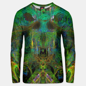 Thumbnail image of Seaweed Ghost Breath (dark, scary, abstract, psychedelic) Cotton sweater, Live Heroes