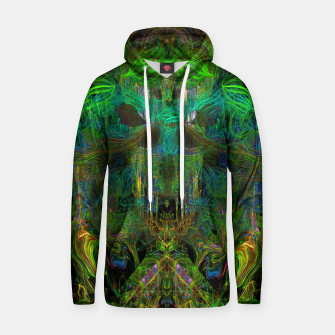 Thumbnail image of Seaweed Ghost Breath (dark, scary, abstract, psychedelic) Cotton hoodie, Live Heroes