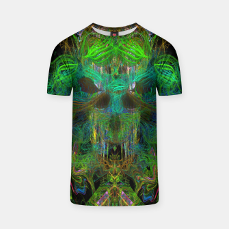 Thumbnail image of Seaweed Ghost Breath (dark, scary, abstract, psychedelic) T-shirt, Live Heroes