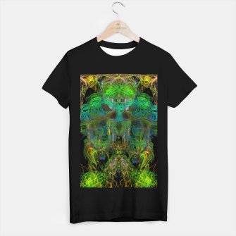 Thumbnail image of Seaweed Ghost Breath (dark, scary, abstract, psychedelic) T-shirt regular, Live Heroes