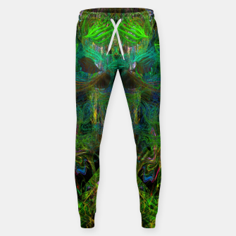 Thumbnail image of Seaweed Ghost Breath (dark, scary, abstract, psychedelic) Cotton sweatpants, Live Heroes