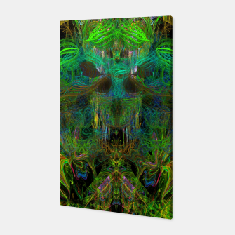 Thumbnail image of Seaweed Ghost Breath (dark, scary, abstract, psychedelic) Canvas, Live Heroes