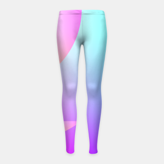 Thumbnail image of Abstract & colors 18 Leggings de fille, Live Heroes