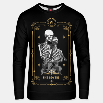 Thumbnail image of The Lovers VI Tarot Card Cotton sweater, Live Heroes