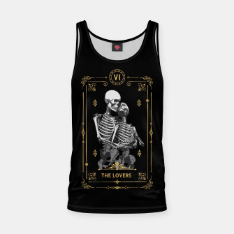 Thumbnail image of The Lovers VI Tarot Card Tank Top, Live Heroes