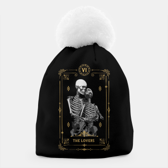 Thumbnail image of The Lovers VI Tarot Card Beanie, Live Heroes