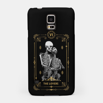 Thumbnail image of The Lovers VI Tarot Card Samsung Case, Live Heroes