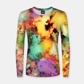 Thumbnail image of Shape shifting Woman cotton sweater, Live Heroes