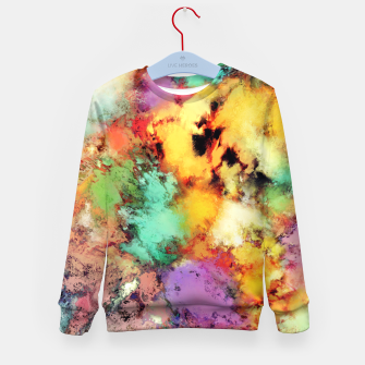 Thumbnail image of Shape shifting Kid's sweater, Live Heroes