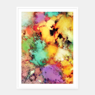 Thumbnail image of Shape shifting Framed poster, Live Heroes