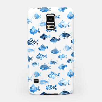 Thumbnail image of watercolor fishes Samsung Case, Live Heroes