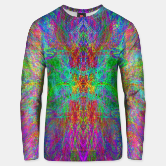 Thumbnail image of Lightworker In The Zephyr (abstract, visionary) Cotton sweater, Live Heroes