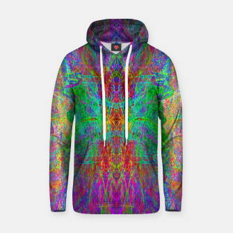 Thumbnail image of Lightworker In The Zephyr (abstract, visionary) Cotton hoodie, Live Heroes