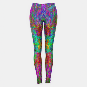 Thumbnail image of Lightworker In The Zephyr (abstract, visionary) Leggings, Live Heroes