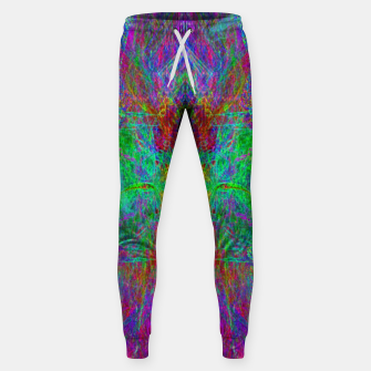 Thumbnail image of Lightworker In The Zephyr (abstract, visionary) Cotton sweatpants, Live Heroes