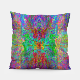 Thumbnail image of Lightworker In The Zephyr (abstract, visionary) Pillow, Live Heroes