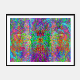 Thumbnail image of Lightworker In The Zephyr (abstract, visionary) Framed poster, Live Heroes