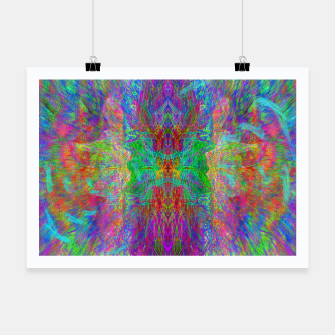 Thumbnail image of Lightworker In The Zephyr (abstract, visionary) Poster, Live Heroes