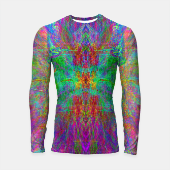 Thumbnail image of Lightworker In The Zephyr (abstract, visionary) Longsleeve rashguard , Live Heroes