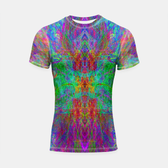 Thumbnail image of Lightworker In The Zephyr (abstract, visionary) Shortsleeve rashguard, Live Heroes
