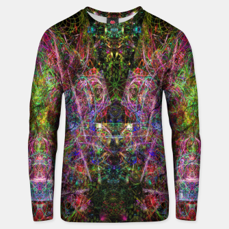 Thumbnail image of Third Mind Wiring (abstract, psychedelic) Cotton sweater, Live Heroes