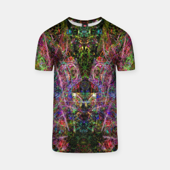 Thumbnail image of Third Mind Wiring (abstract, psychedelic) T-shirt, Live Heroes